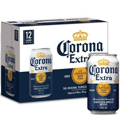 Corona Extra Lager Beer - 12pk/12 fl oz Cans