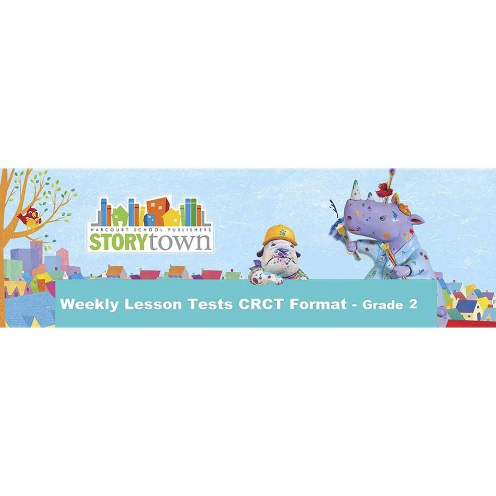Ga Weekly Lsn Tst-Crct Frmt Te G2 Stry09 - (Paperback)