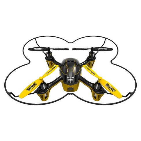 Webrc Xdrone Spy Quadcopter Yellow 55 Inches Target