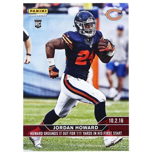 bcca848f982 Chicago Bears Jordan Howard 2016 Panini Instant NFL Rookie Card #73 ...
