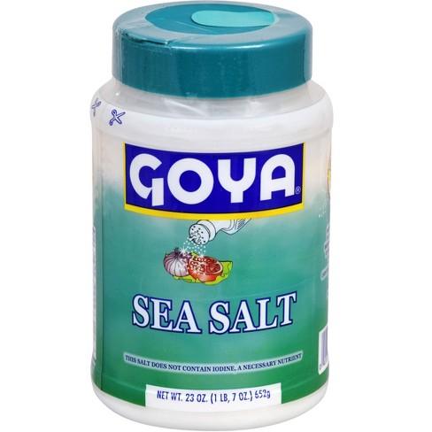 Goya Sea Salt - 23oz - image 1 of 4