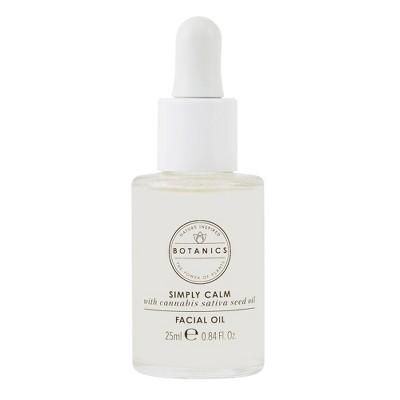 Botanics Simply Calm Facial Oil - 0.84 fl oz