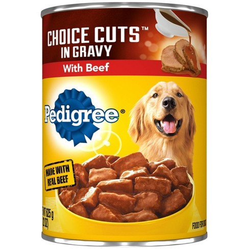 Pedigree Beef Choice Cuts in Gravy Wet Dog Food - 22oz - image 1 of 4