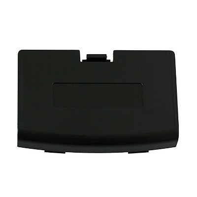 Repair Part Battery Door Cover Compatible with GBA Black