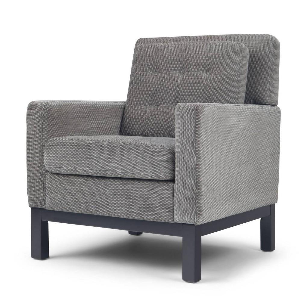 Cassidy Club Chair Pewter (Silver) - Wyndenhall
