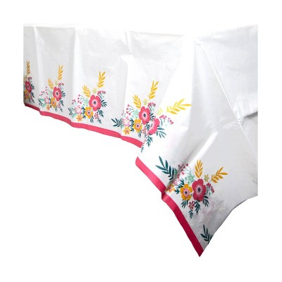 Party Floral Table Cover