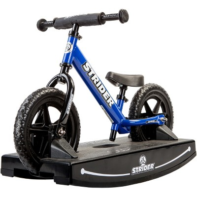 Strider 12 Sport Baby Bundle No - Pedal Balance Bike - Blue