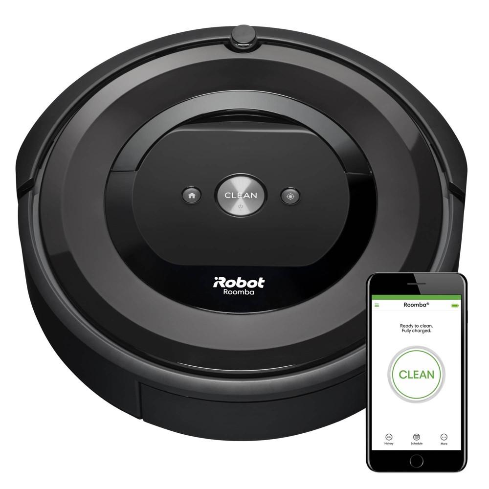 iRobot Roomba e5 (5150) Wi-Fi Connected Robot Vacuum, Grey
