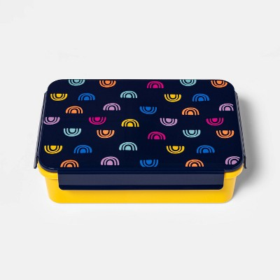Bento Box with Non-Removable Divider Rainbow Decal - Cat & Jack™