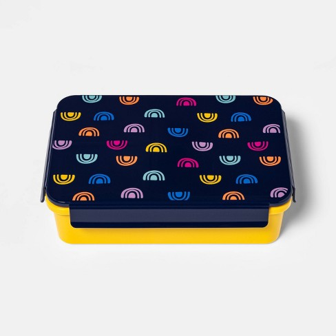 Bento Box with Non-Removable Divider Rainbow Decal - Cat & Jack™ - image 1 of 3