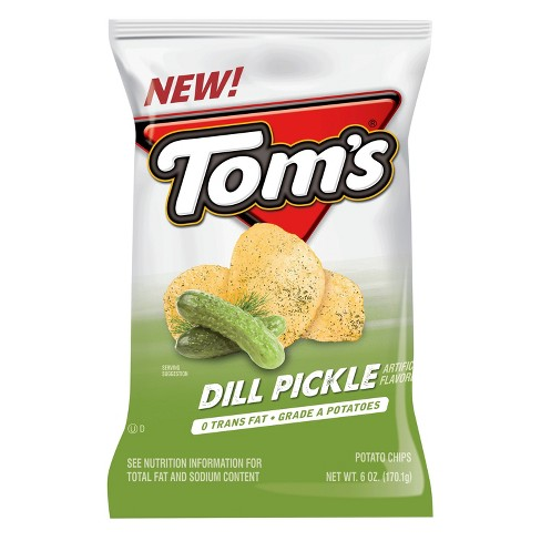 Tom's® Dill Pickle Flavored Potato Chips - 5.5oz - image 1 of 1