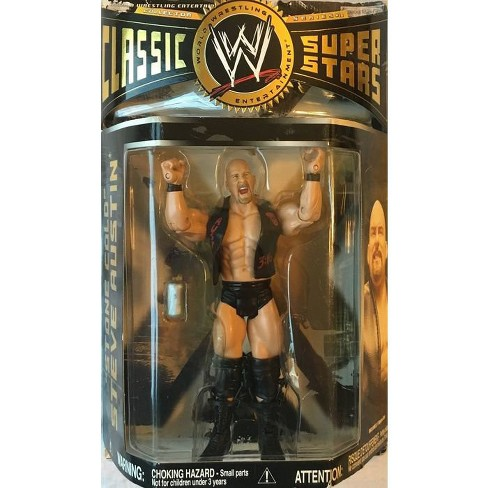 WWE Wrestling Classic Superstars Series 18 Stone Cold Steve Austin Action Figure - image 1 of 1