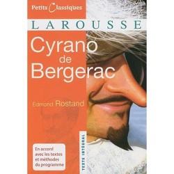 Cyrano de Bergerac - (Petits Classiques Larousse Texte Integral) by  Edmond Rostand (Paperback)