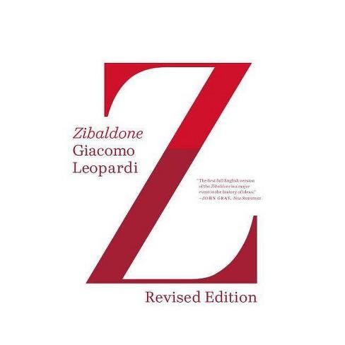 Zibaldone - by  Giacomo Leopardi (Paperback) - image 1 of 1