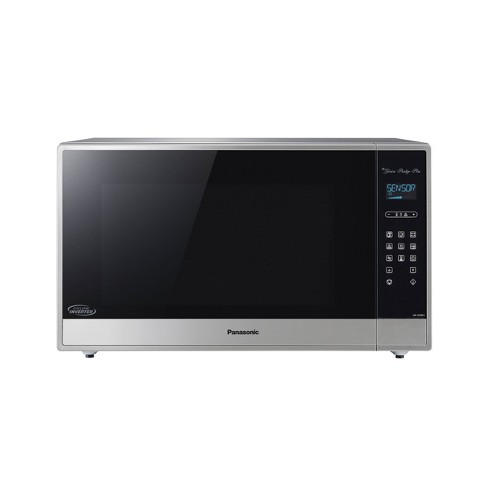 Panasonic 2.2 cu ft Cyclonic Inverter Microwave Oven - Silver - image 1 of 4