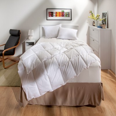 Down Alternative Temperature Regulating Comforter (Full/Queen)White - Threshold™