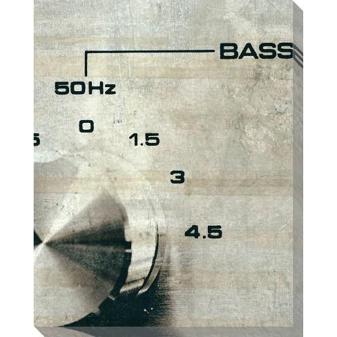 Sound Check Bass Unframed Wall Canvas Art - (24X30) - image 1 of 2