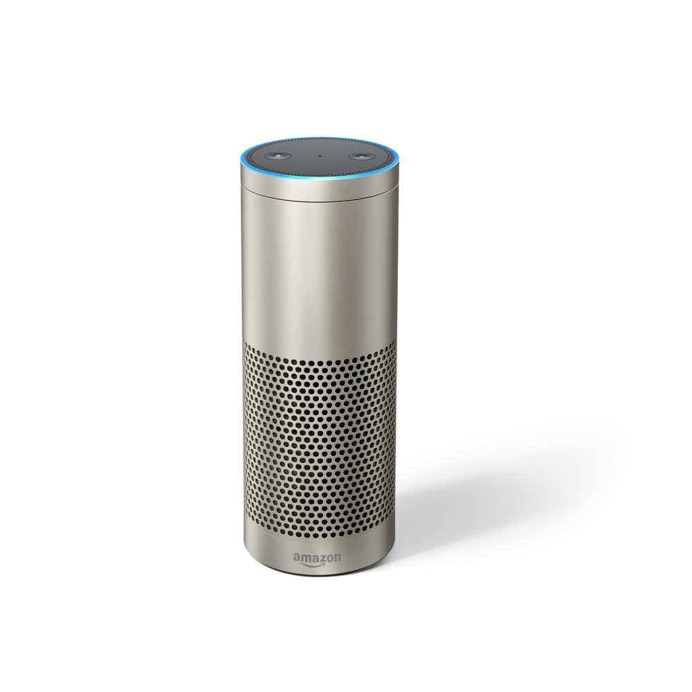 Amazon Echo Plus Alexa-enabled Bluetooth Speaker - Silver