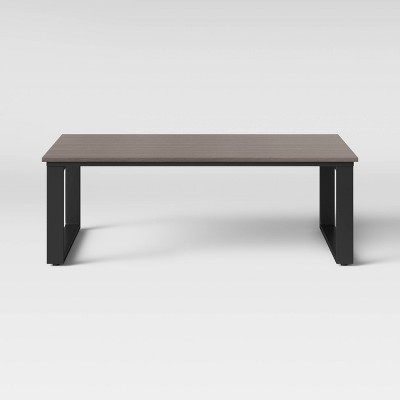 Kipp Platform Patio Coffee Table - Brown - Project 62™
