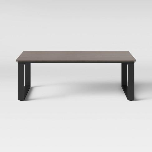 Kipp Platform Patio Coffee Table - Brown - Project 62™ - image 1 of 2