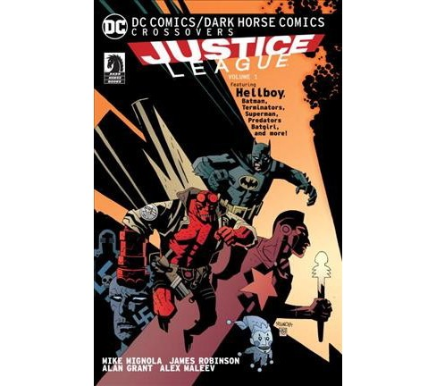 DC Comics / Dark Horse Comics Justice League 1 (Paperback) (Alan Grant & Mike Kennedy & David Michelinie - image 1 of 1