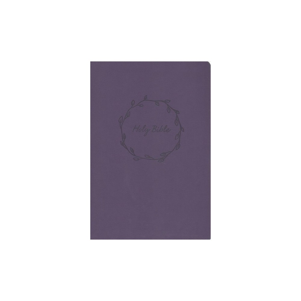 Holy Bible : New King James Version, Value Large Print, Thinline, Purple Leathersoft, Red Letter Edition