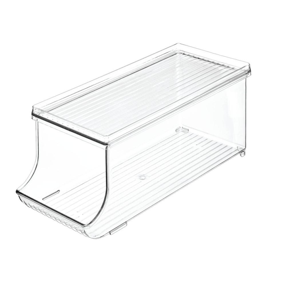 Idesign Fridge 4pk Binz Soda Holder Plus Set Clear