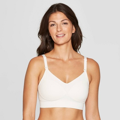 Women's Nursing Seamless Bra - Auden™ Gesso White XL