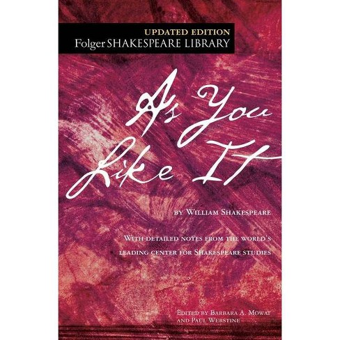 As You Like It - (Folger Shakespeare Library) by  William Shakespeare (Paperback) - image 1 of 1