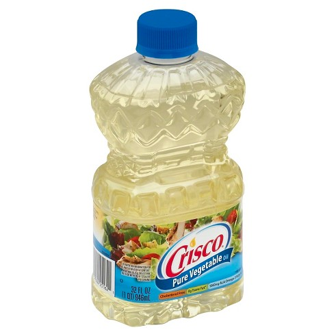 crisco pure vegetable oil 32oz target