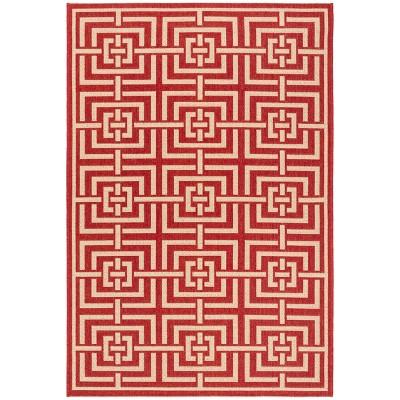 Maude Geometric Loomed Rug - Safavieh