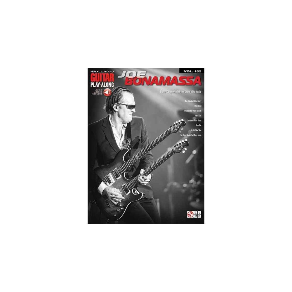 Joe Bonamassa ( Hal Leonard Guitar Play-Along) (Mixed media product)