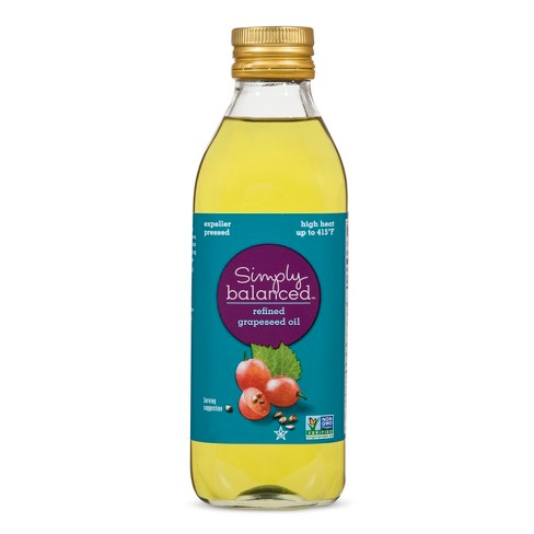 Refined Grapeseed Oil - 16.9oz - Simply Balanced™ - image 1 of 1