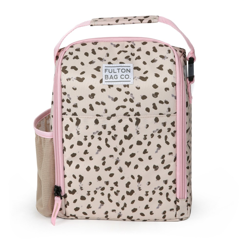 Image of Fulton Bag Co. Lunch Bag - Cheetah, Multi-Colored