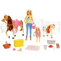 Barbie Hugs 'N' Horses Playset