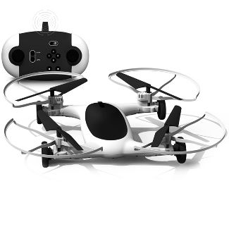 """Sharper Image Fly + Drive 7"""" Drone"""