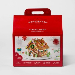 Holiday Deluxe Gingerbread House Kit - 38.8oz - Wondershop™