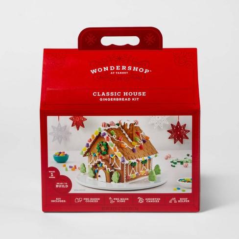 Holiday Deluxe Gingerbread House Kit - 38.8oz - Wondershop™ - image 1 of 2