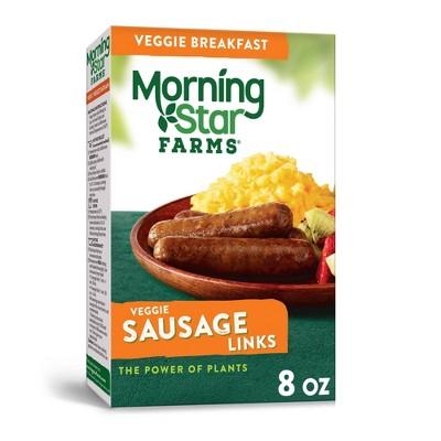 Morningstar Farms Breakfast Veggie Sausage Links - Frozen - 8oz