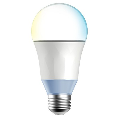 TP-LINK - 60W Smart Wi-Fi LED Bulb with Tunable White Light - No Hub Required