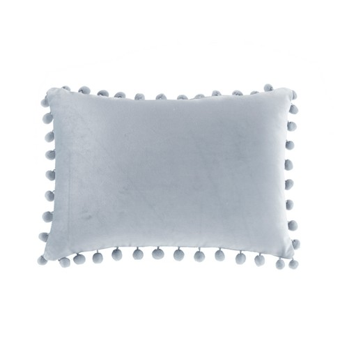 Loree Velvet Pom Pillow - image 1 of 4