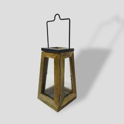 11  Wood & Zinc Metal Outdoor Lantern - Smith & Hawken™