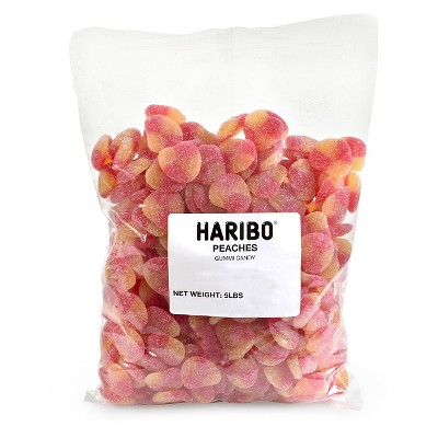 Gummy Candies: Haribo Peaches