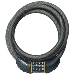 "Master Lock 6' X 1/2"" Re settable Combo Cable"