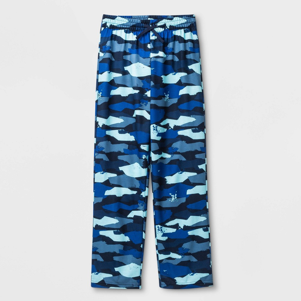 Image of Boys' Camo Print Pajama Pants - Cat & Jack Navy L, Boy's, Size: Large, Blue