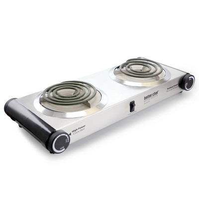 Better Chef IM-302DB Stainless Steel Dual Electric Burner