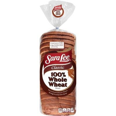 Sara Lee 100% Whole Wheat Classic Wheat Bread - 16oz