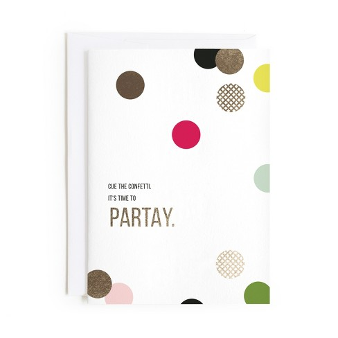 Minted Confetti Card - image 1 of 1