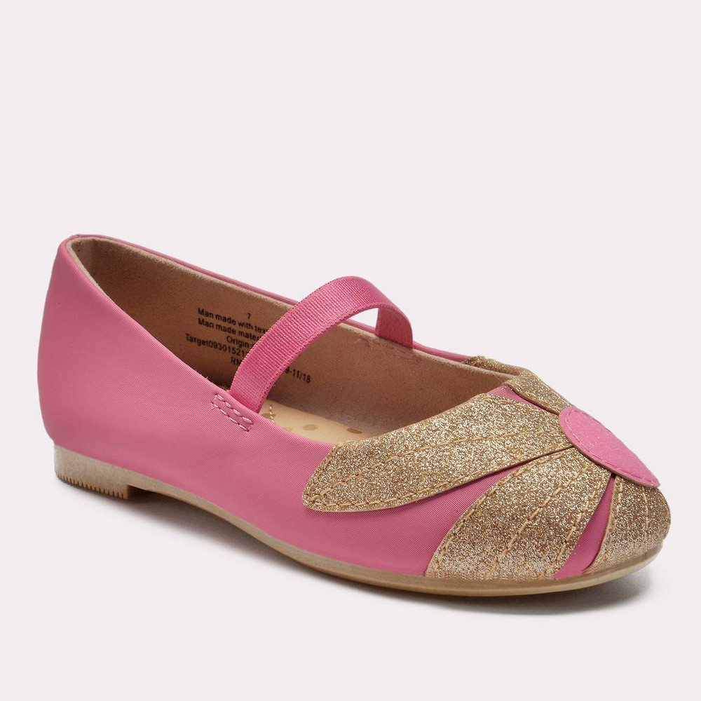 Toddler Girls' Margarette Ballet Flats - Cat & Jack Pink 6