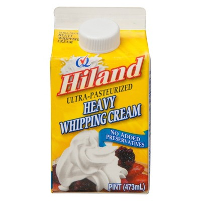 Hiland Heavy Whipping Cream - 1pt